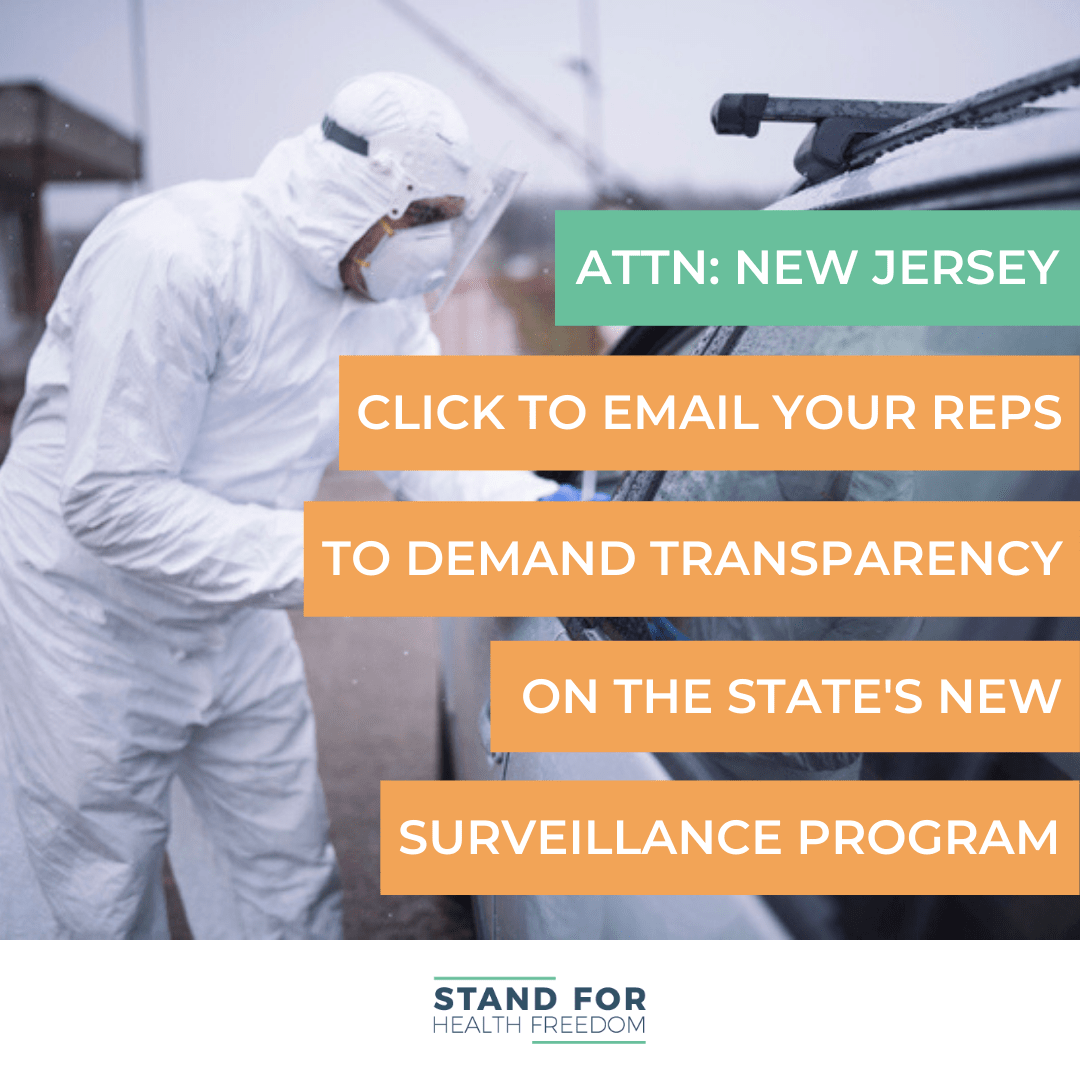 Urgent: Don't Let New Jersey Quietly Become A Police State - Demand Public Hearings To Get Answers On The State's New Surveillance Program