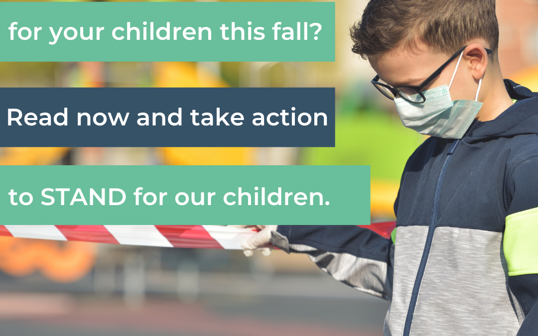 Tell Your Officials To Say No To Mandating The CDC's COVID-19 School Guidelines. They're Not Evidence-Based And They Hurt Students And Learning!