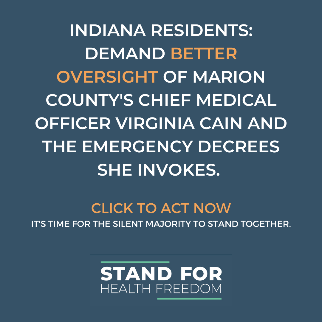 Act Now: Tell Your Lawmakers to Put A Stop to the Abuse of Power by the Marion County Public Health Department