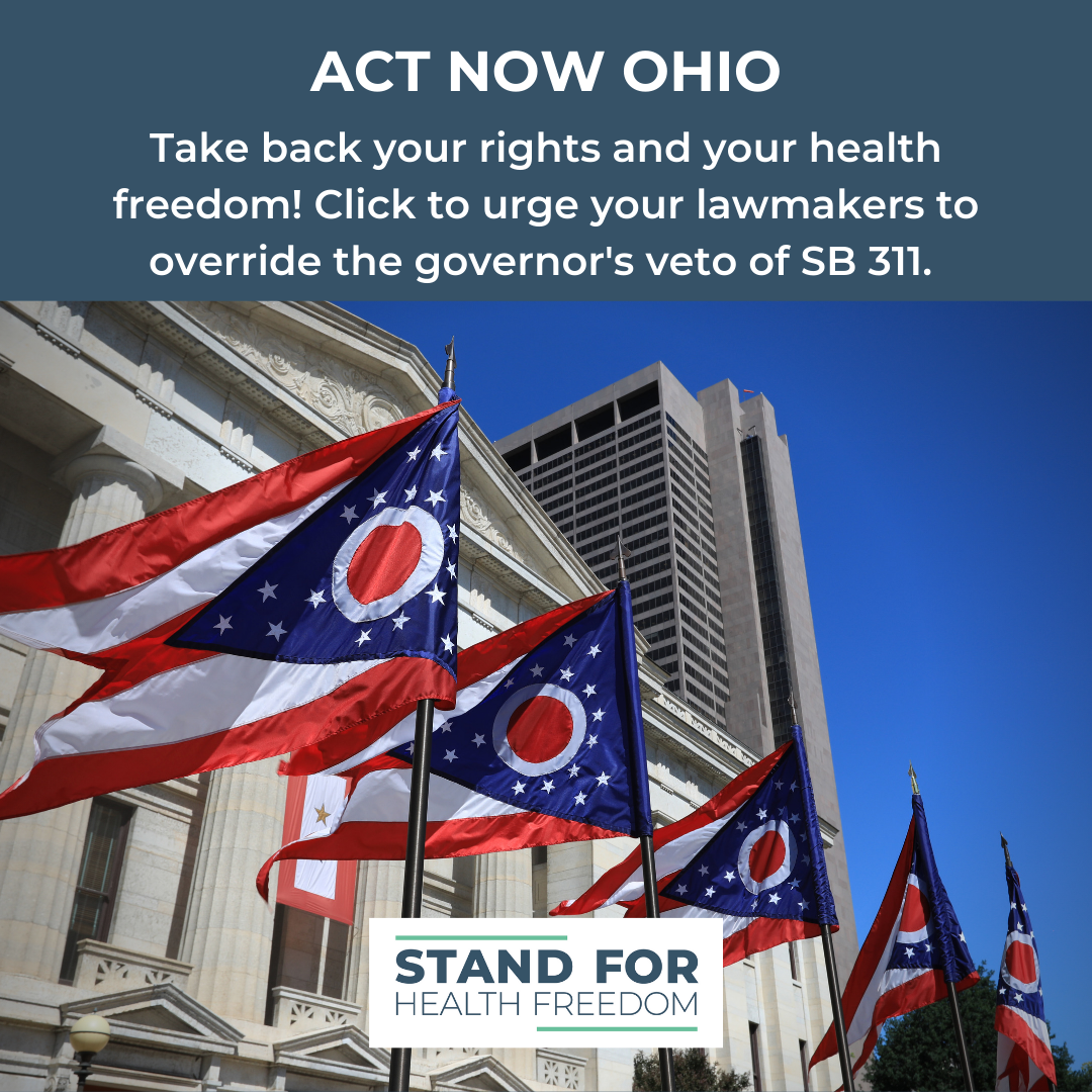 Act Now: Tell Your Legislators to Override Governor Dewine's Veto of SB311