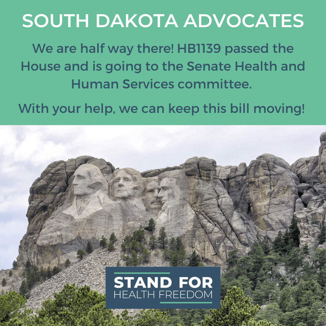 We Are Halfway There! Please Support HB1139 So It Gains Traction in the Senate HHS Committee.