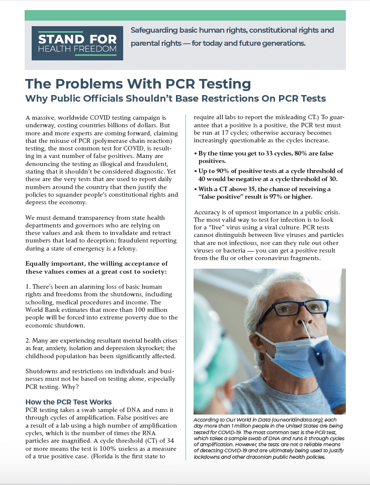 The Problems With PCR Testing