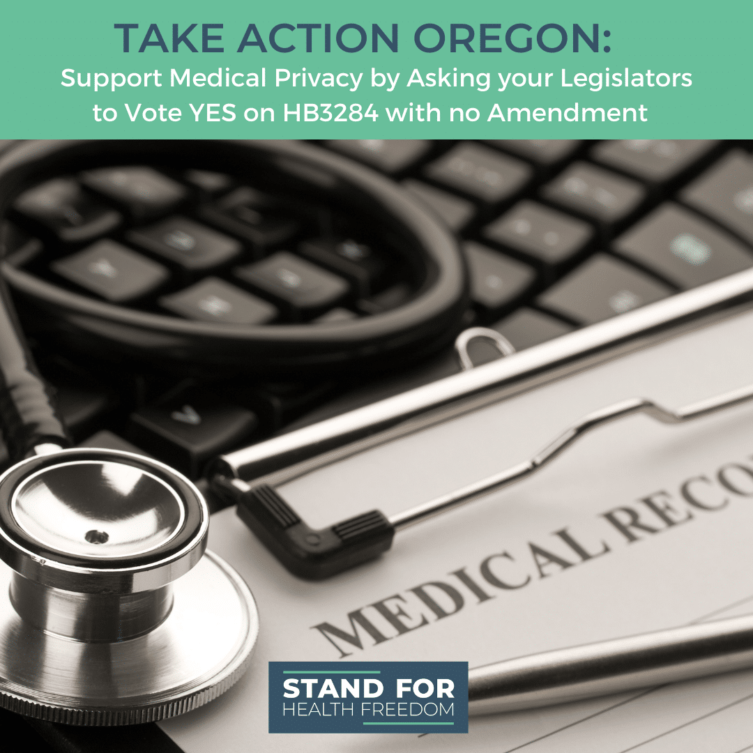 Take Action Oregon: Support Medical Privacy Today