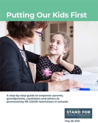 Putting Our Kids First Step-by-Step Guide | Stand For Health Freedom