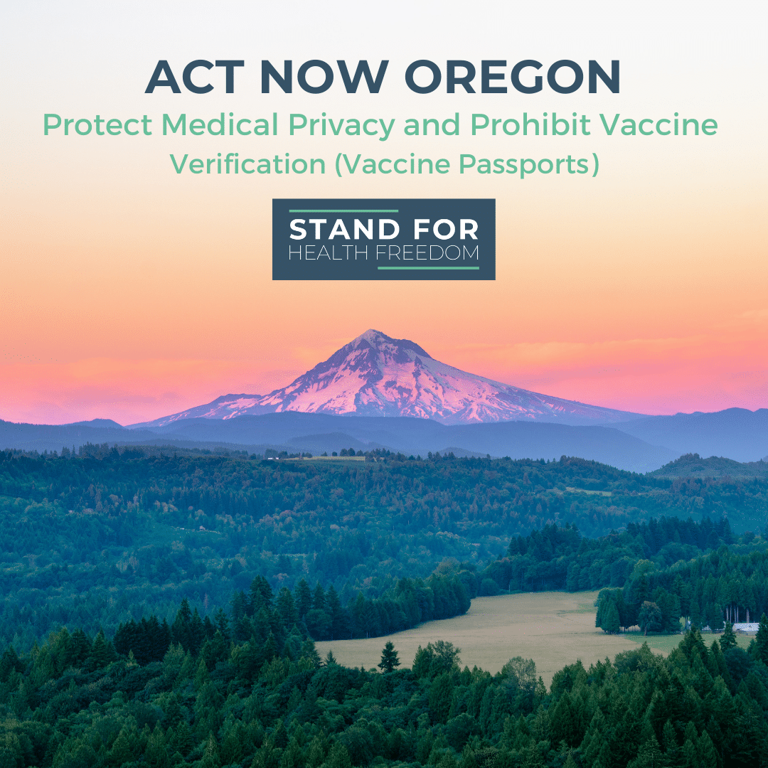 Act Now Oregon: Protect medical privacy and prohibit vaccine passports