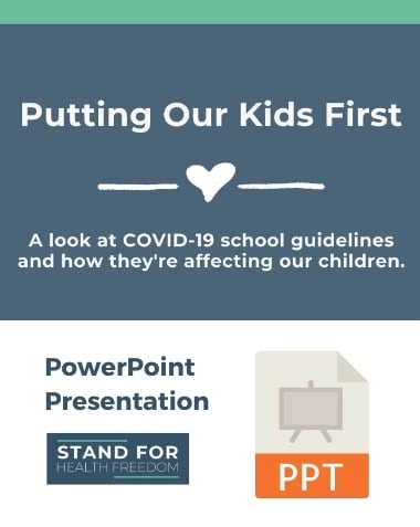 Putting Our Kids First Presentation | Stand For Health Freedom