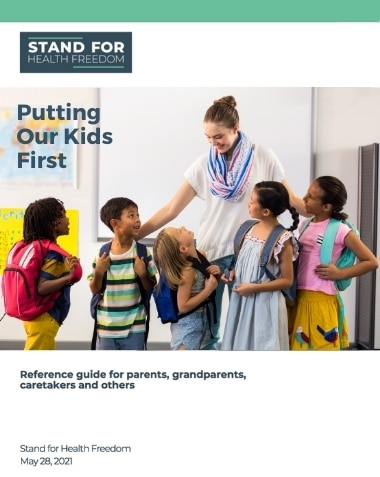 Putting Our Kids First Reference Guide | Stand For Health Freedom