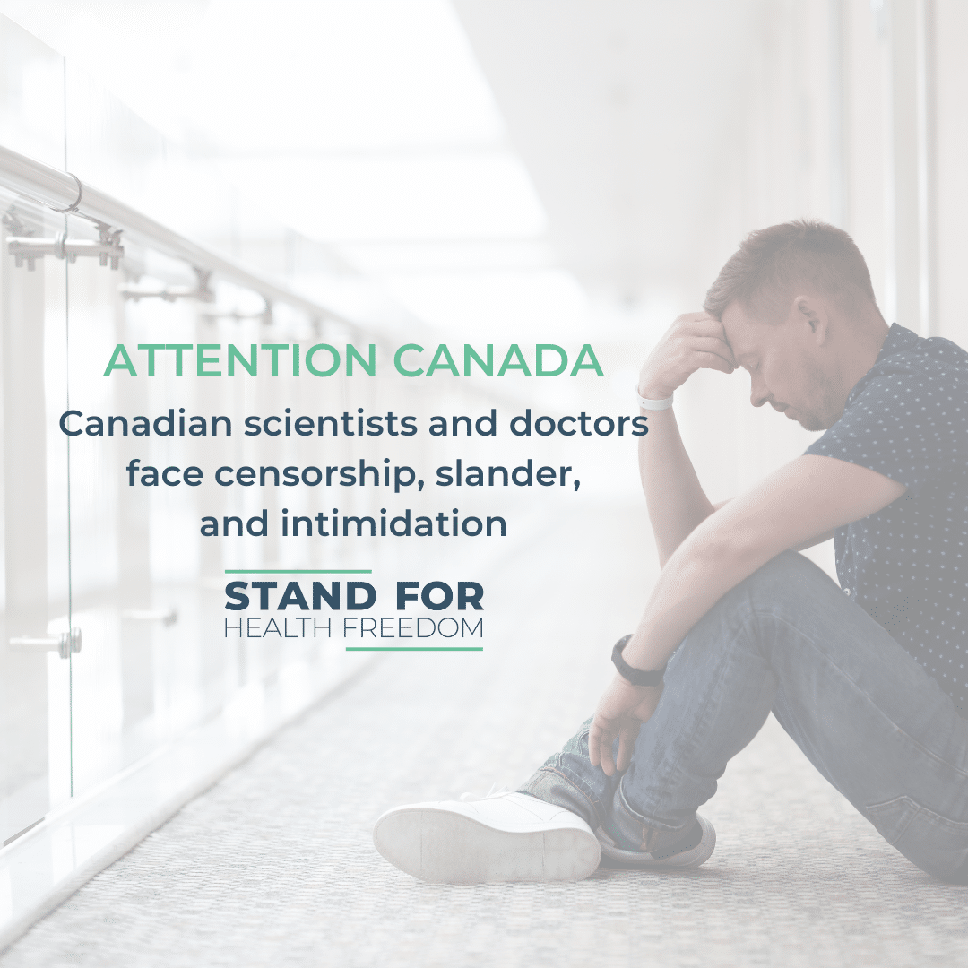 Canadian scientists and doctors face censorship, slander, and intimidation