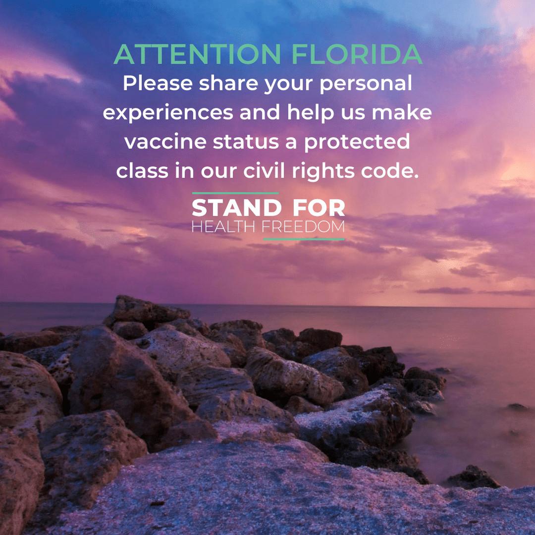 Florida Vaccine Discrimination Survey