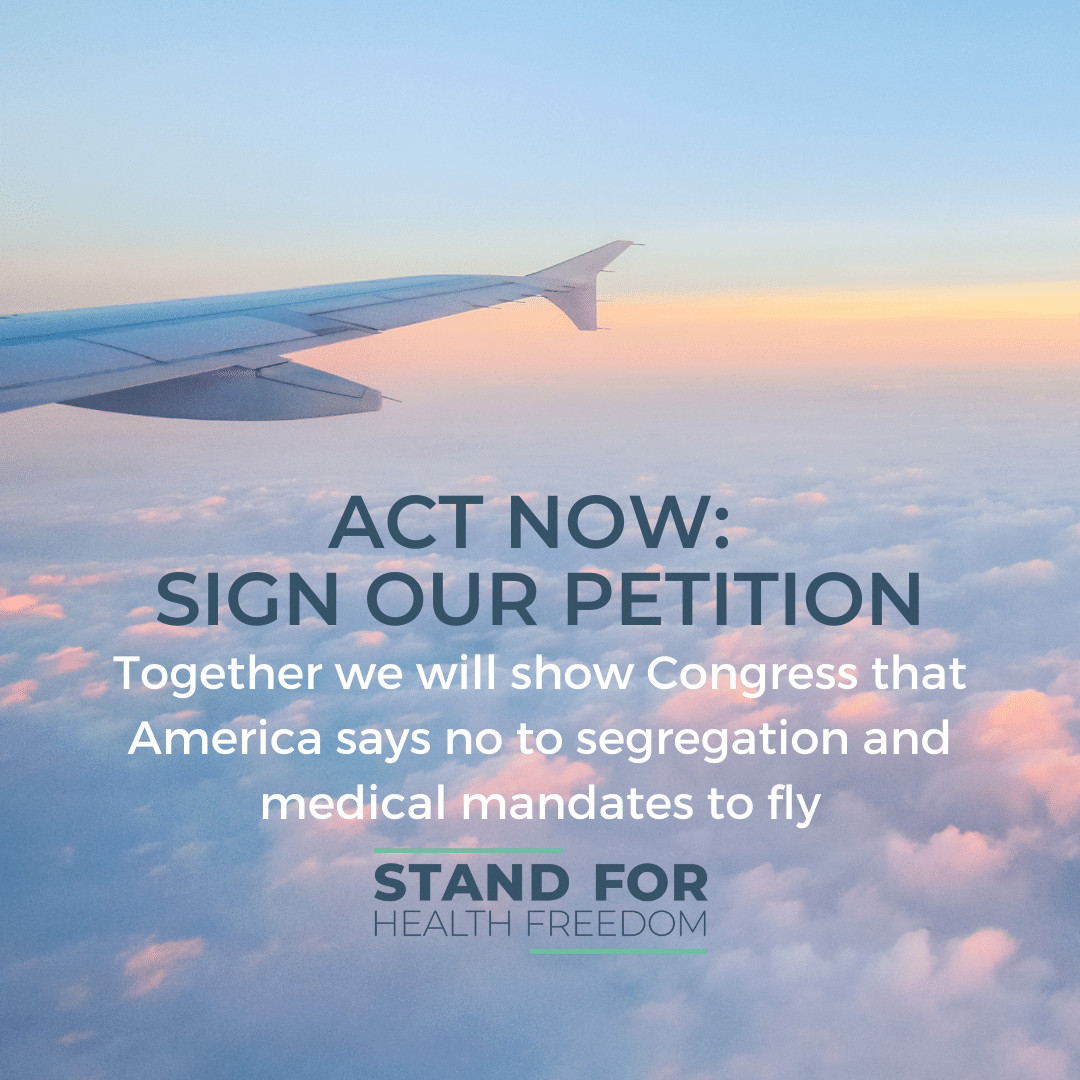 Vaccine Mandates for Air Travel Won't Fly