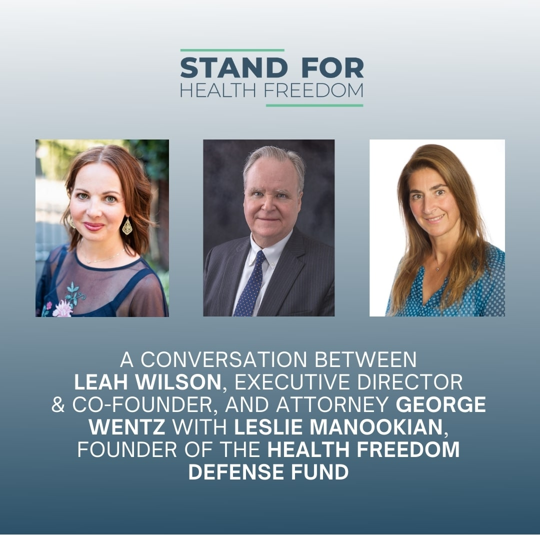 Health Freedom Starts At Home | Stand For Health Freedom