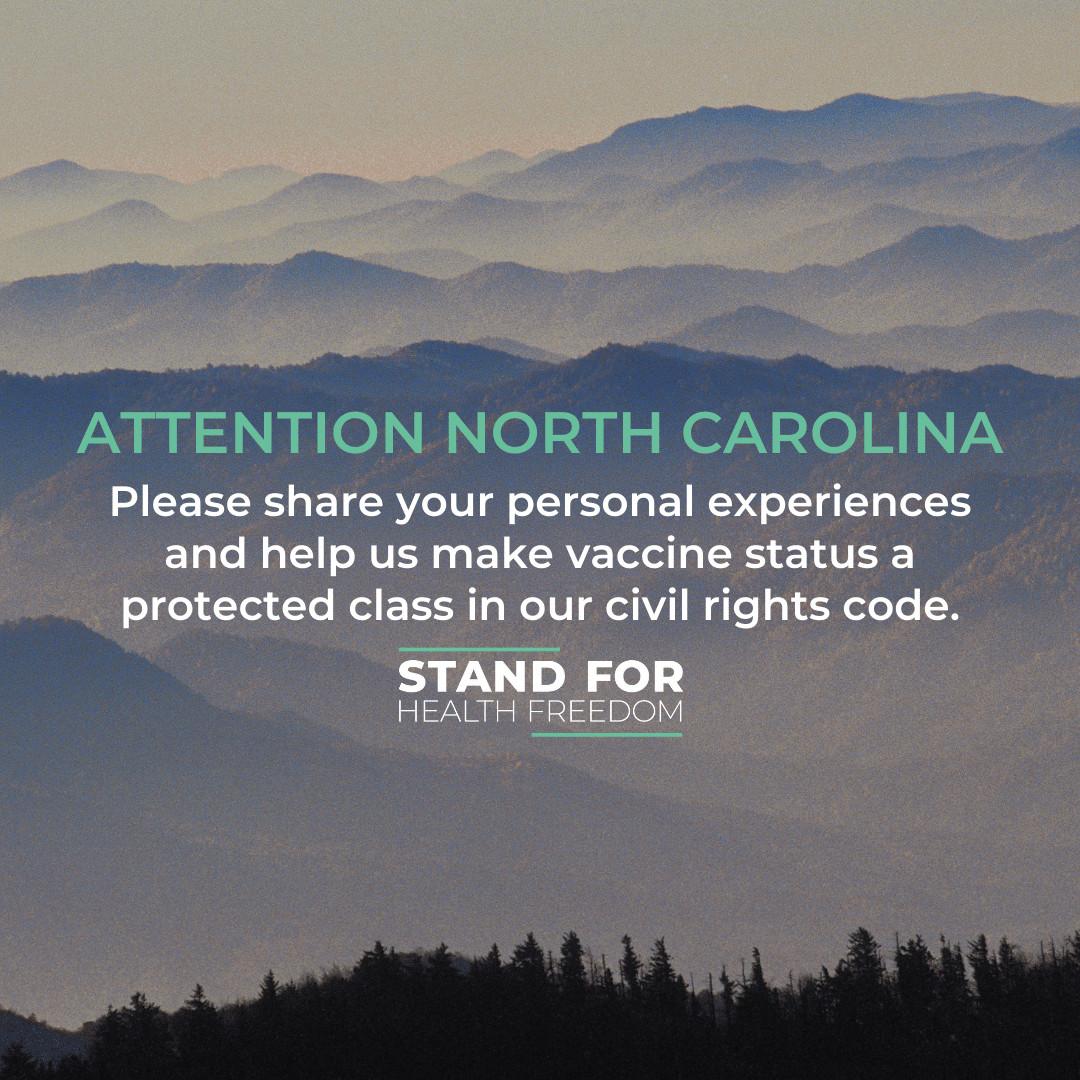 North Carolina Vaccine Discrimination Survey