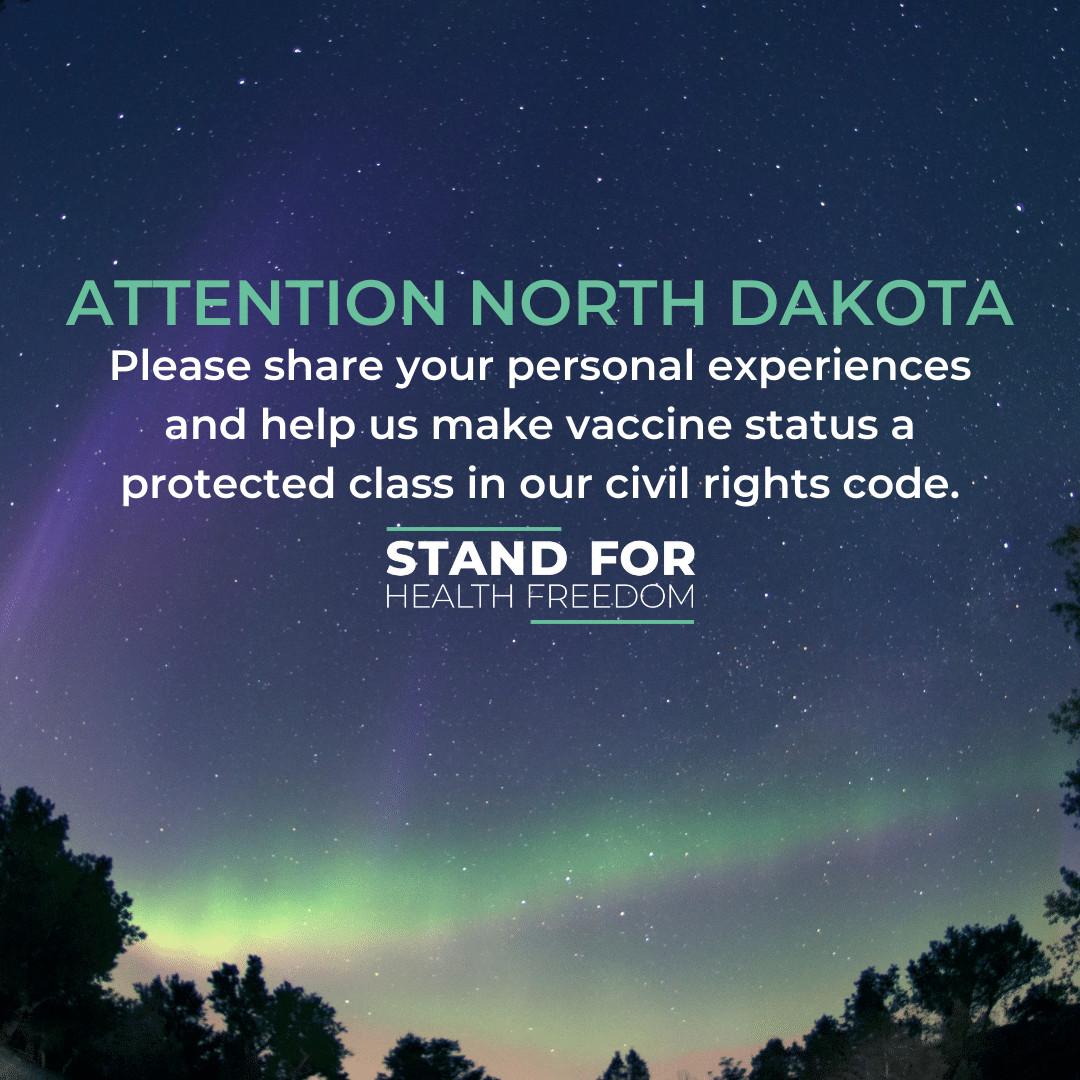 North Dakota Vaccine Discrimination Survey