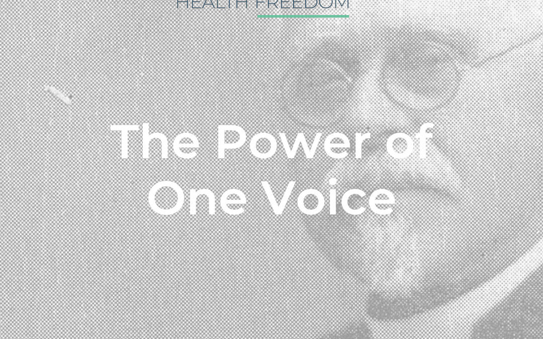 The Power of One Voice