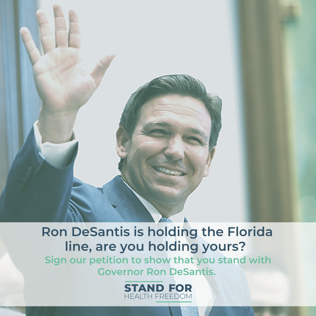 DeSantis is Holding the Florida Line-Are You Holding Yours?