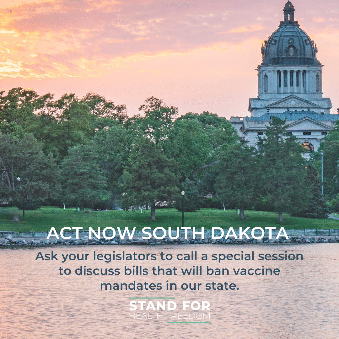 ACT NOW: Protect South Dakotans from forced COVID-19 vaccinations
